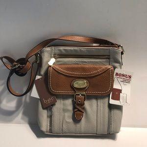 Born Concept handbag w/ organizer front compart.
